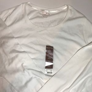 White STAG White Long Sleeve Top NWT